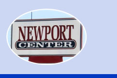 Newport Center sign